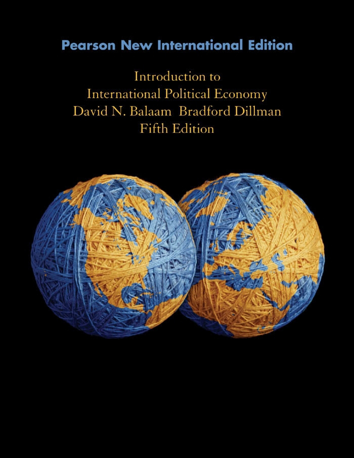 Introduction to International Political Economy: Pearson New International Edition