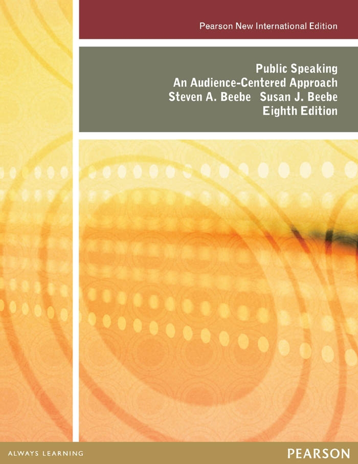 Public Speaking: Pearson New International Edition