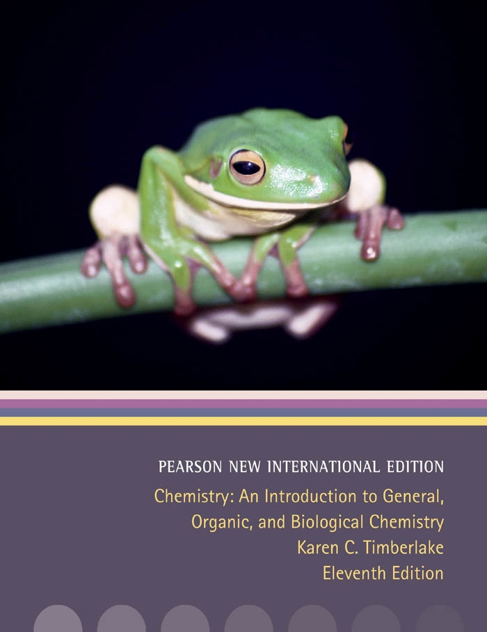 Chemistry: Pearson New International Edition