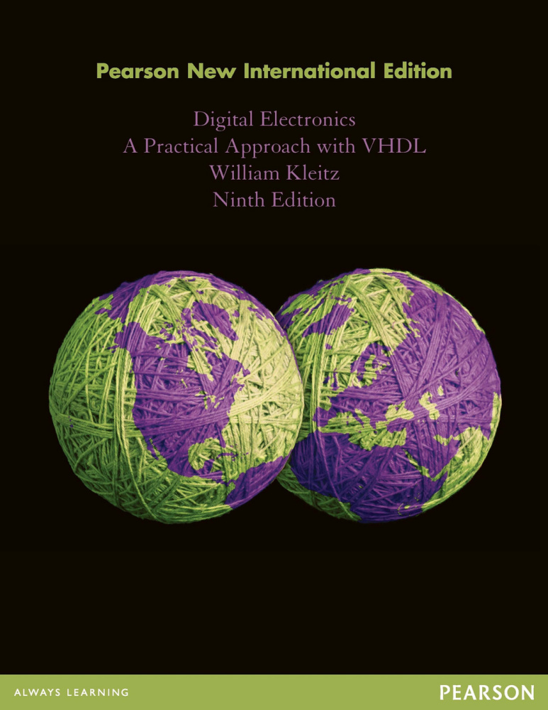 Digital Electronics: Pearson New International Edition