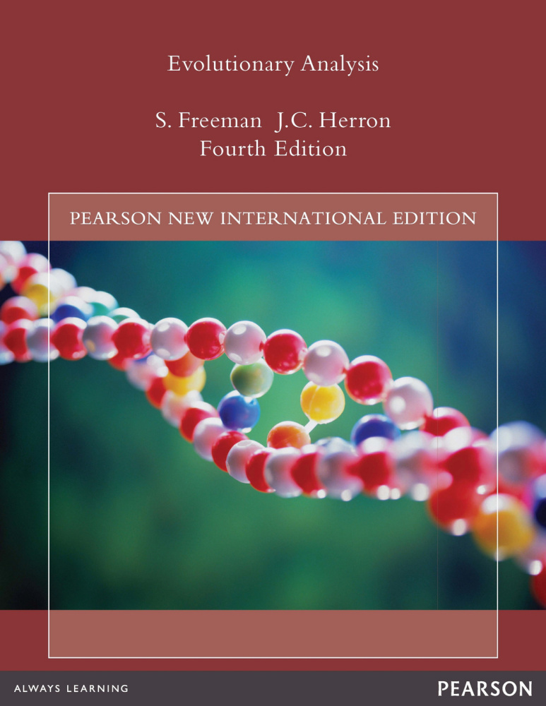 Evolutionary Analysis: Pearson New International Edition