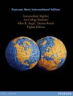Intermediate Algebra for College Students: Pearson New International Edition