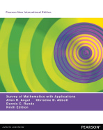A Survey of Mathematics with Applications: Pearson New International Edition