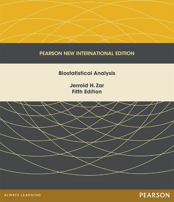 Biostatistical Analysis: Pearson New International Edition