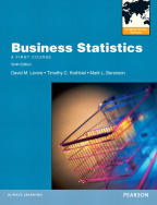 Business Statistics: International Edition