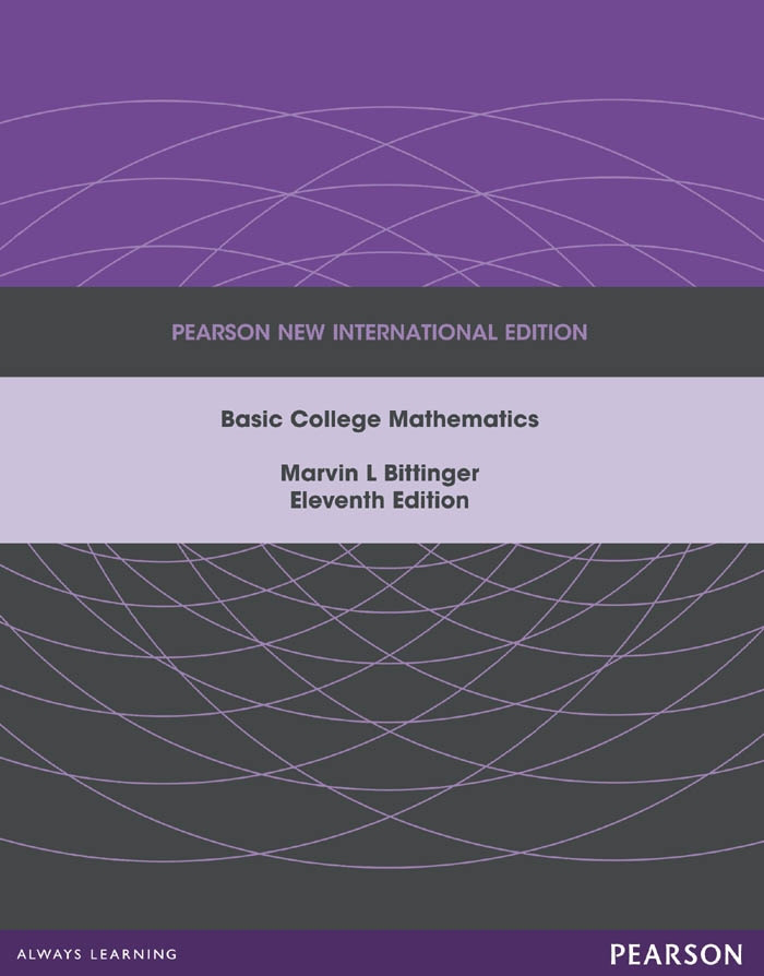 Basic College Mathematics: Pearson New International Edition