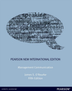 Management Communication: Pearson New International Edition