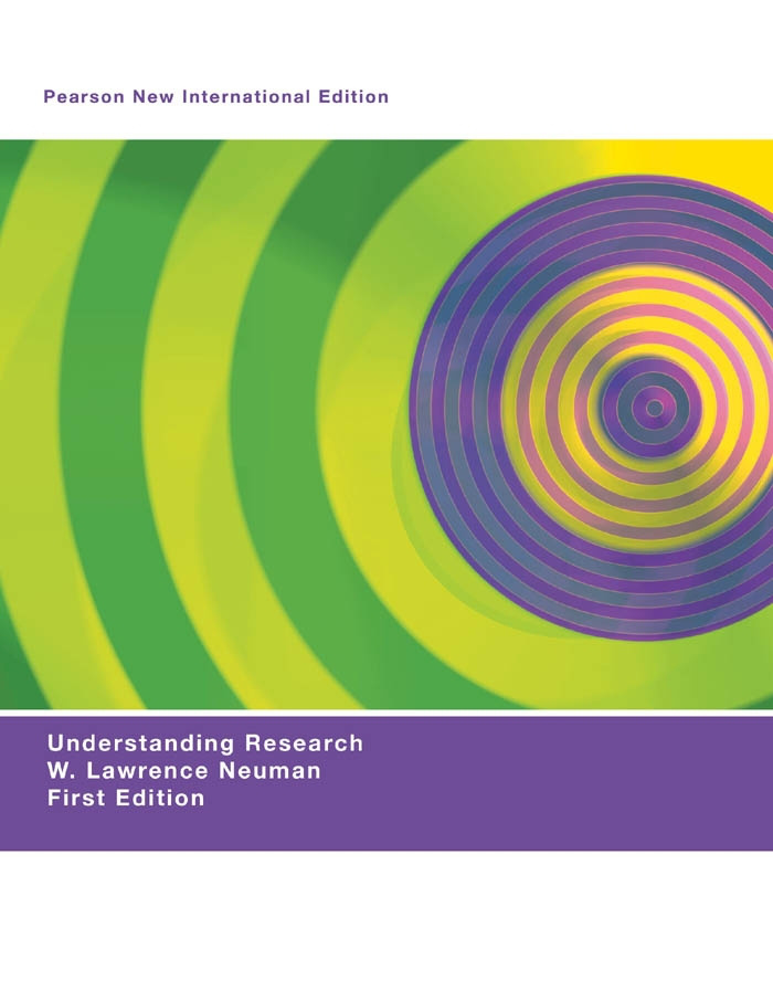 Understanding Research: Pearson New International Edition