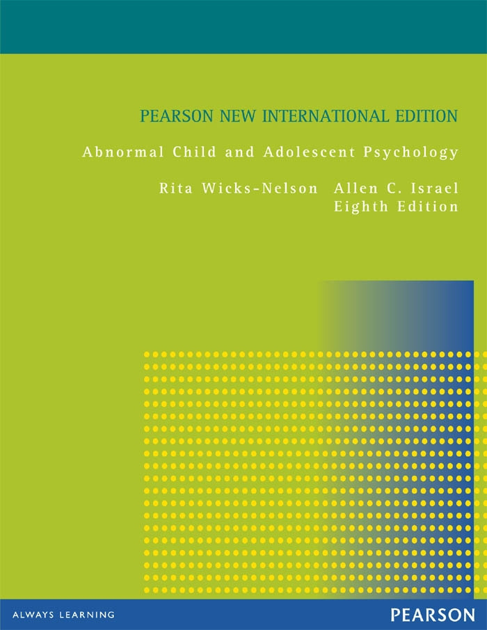 Abnormal Child and Adolescent Psychology: