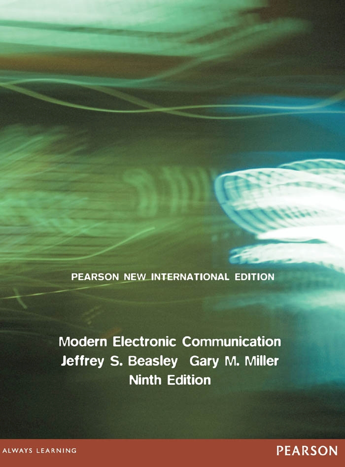 Modern Electronic Communication: Pearson New International Edition