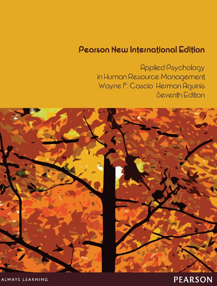 Applied Psychology in Human Resource Management: Pearson New International Edition