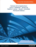 Calculus & Its Applications: Pearson New International Edition