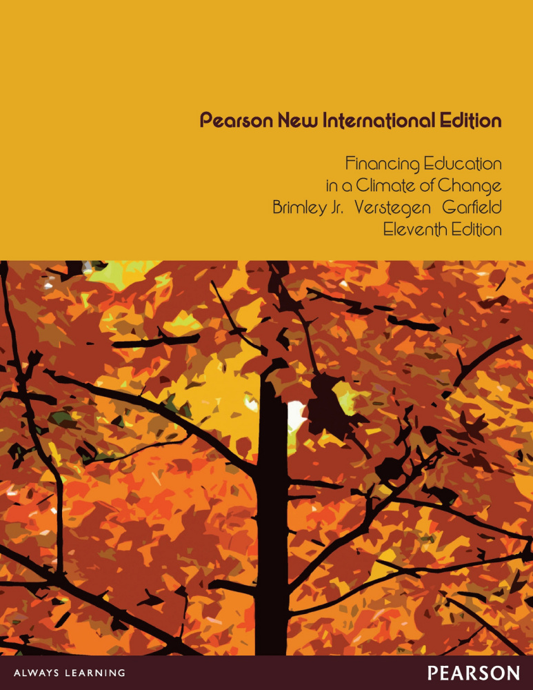 Financing Education in a Climate of Change: Pearson New International Edition