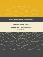 Essential College Physics: Pearson New International Edition
