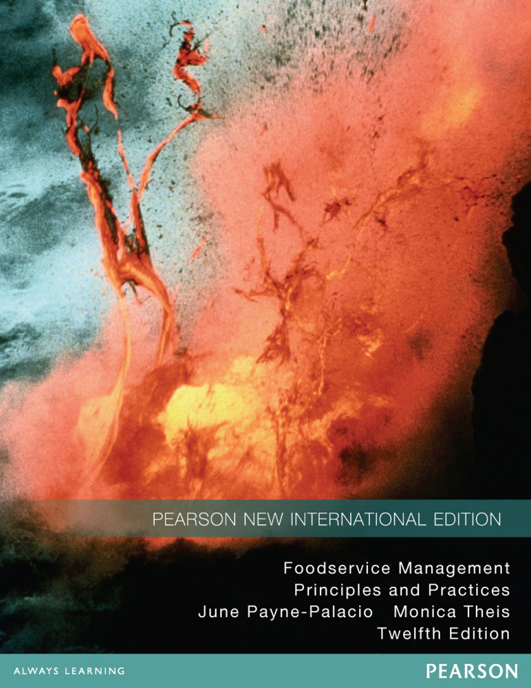 Foodservice Management: Pearson New International Edition