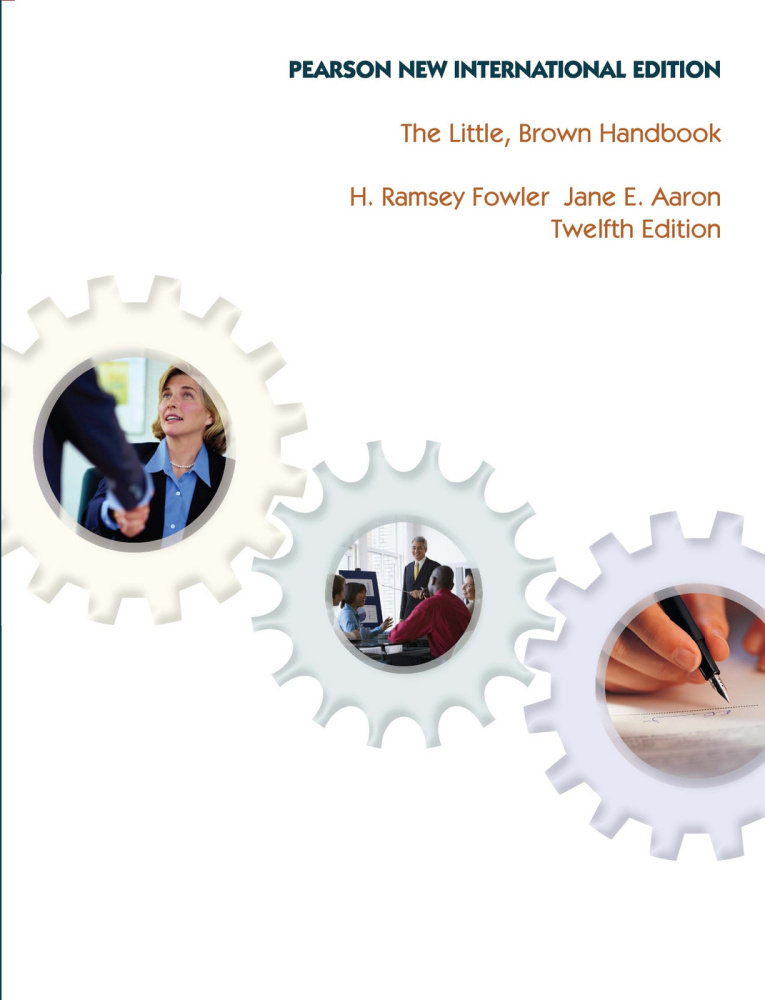 Little, Brown Handbook, The: Pearson New International Edition