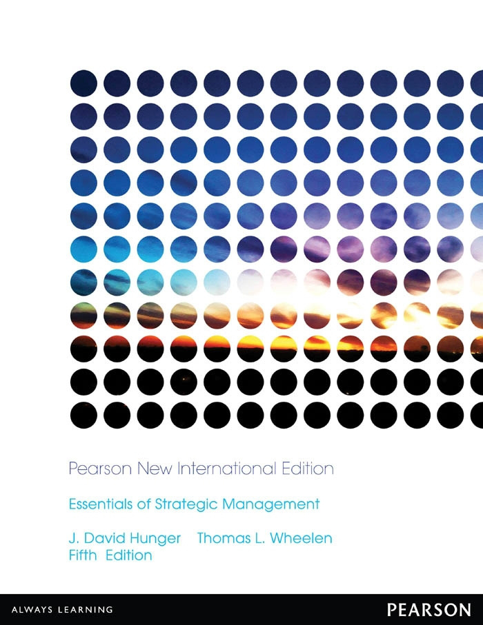 Essentials of Strategic Management: Pearson New International Edition