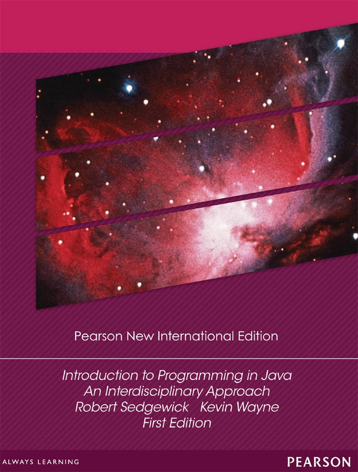 Introduction to Programming in Java: Pearson New International Edition