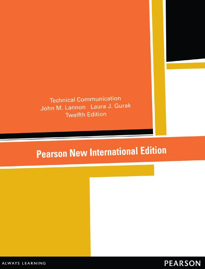 Technical Communication: Pearson New International Edition