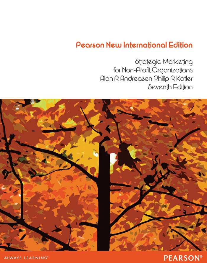 Strategic Marketing for non-profit Organisations:Pearson New International Edition