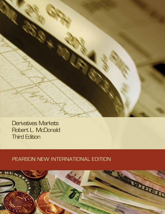 Derivatives Markets: Pearson New International Edition